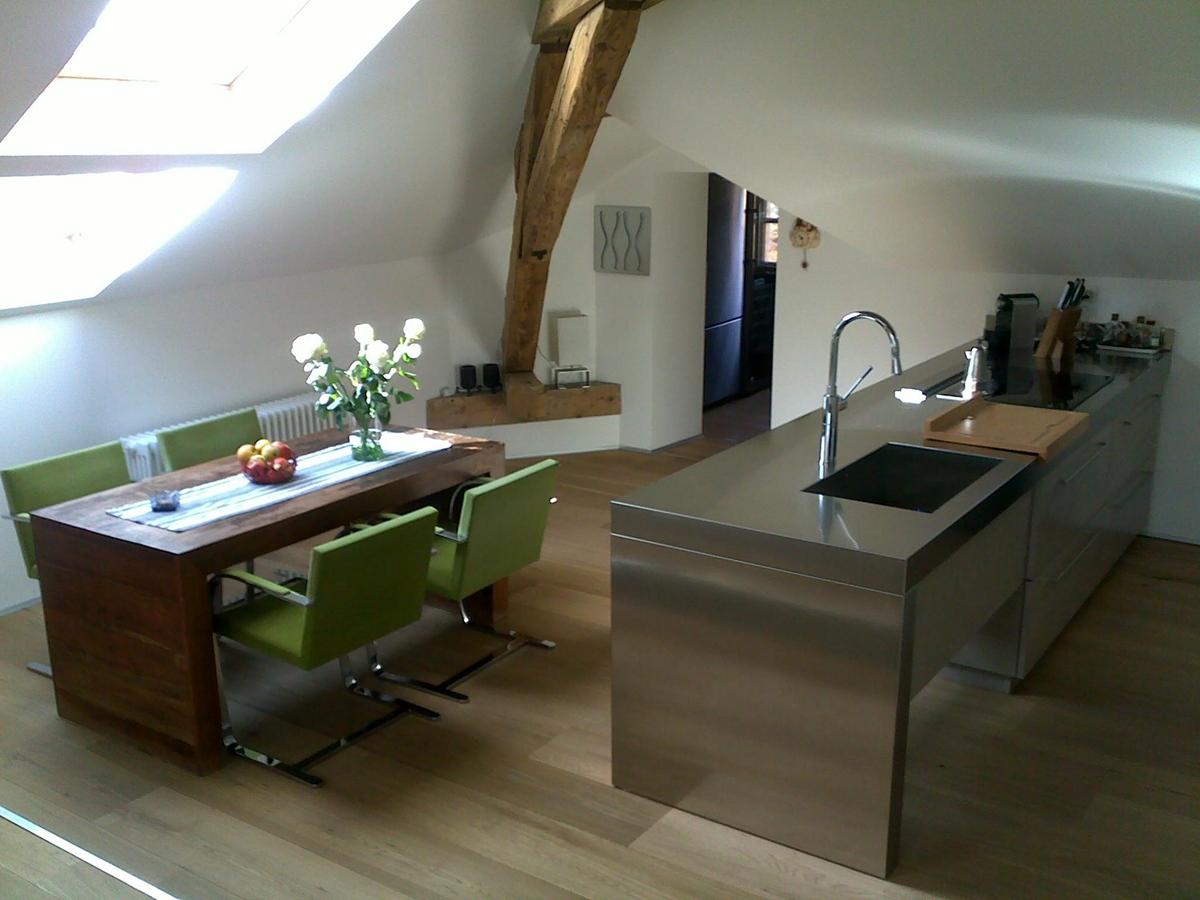 cucina mansarda | Falegnameria Legno Arredo Milano